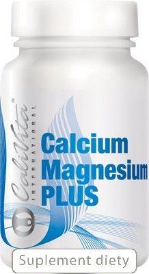 Calcium Magnesium Plus: wapń i magnez z witaminami D i K