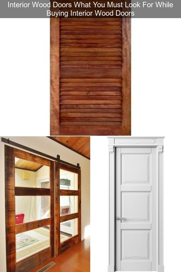 Solid Wood Interior Doors White