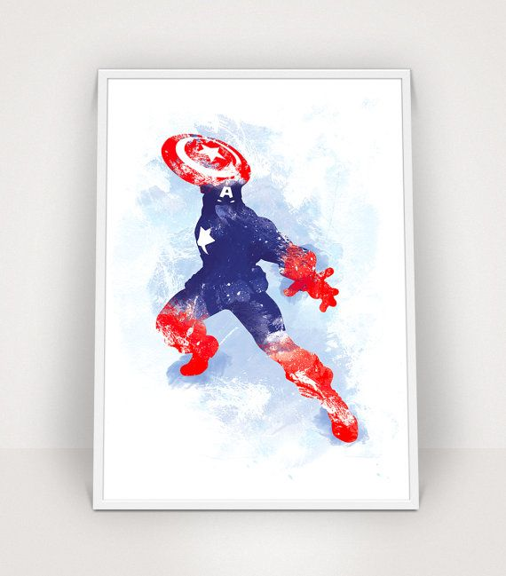 Best Captain America Room Images On Pinterest Captain America