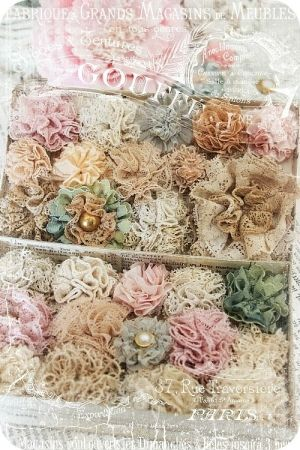 "DIY:: Doily, Lace, And Vintage Flower Tutorials ! You Now Have No Excuse to Not ""Shabby Up"" any Decor :) by dagojewelz"