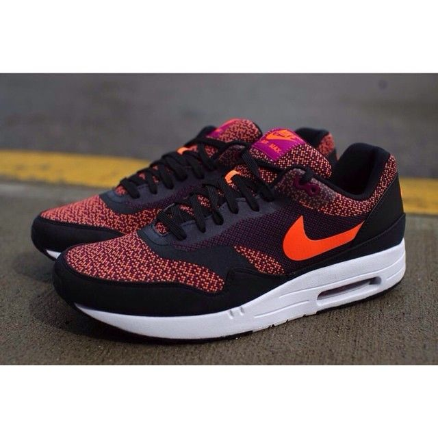 Air Max 1 Jacquard Total Orange. Nike Women's ...