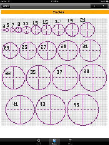 Minecraft circle blueprints