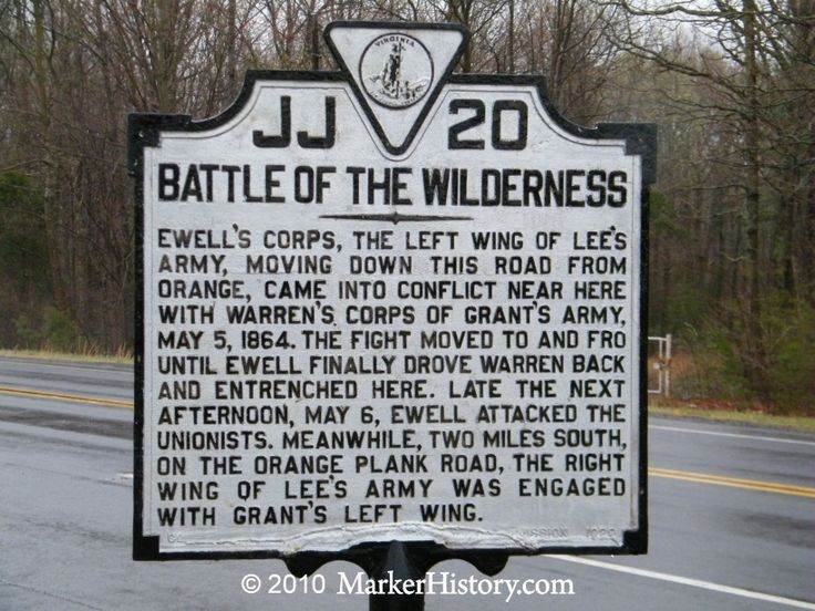 Battle of The Wilderness - my great great  grandfather, Abraham Winkler, was captured here during the Civil War. He died in captivity right before the end of the war.