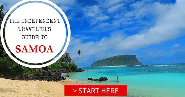Samoa's Wild Island: Road Tripping In Savaii