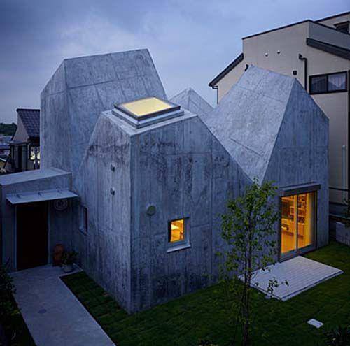Modern+Japanese+Architecture | Modern Japanese Architecture House by Torafu Architects  Modern .