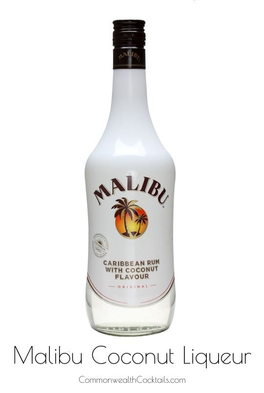 Malibu Coconut Liqueur - Malibu is an Eighties favourite that has stood the test of time weathered the vagaries of fashion and survived. The benchmark coconut liqueur.