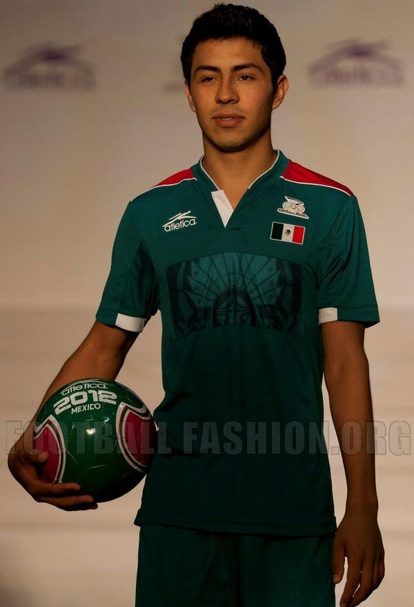 Mexico Atlética 2012 London Olympics Jerseys