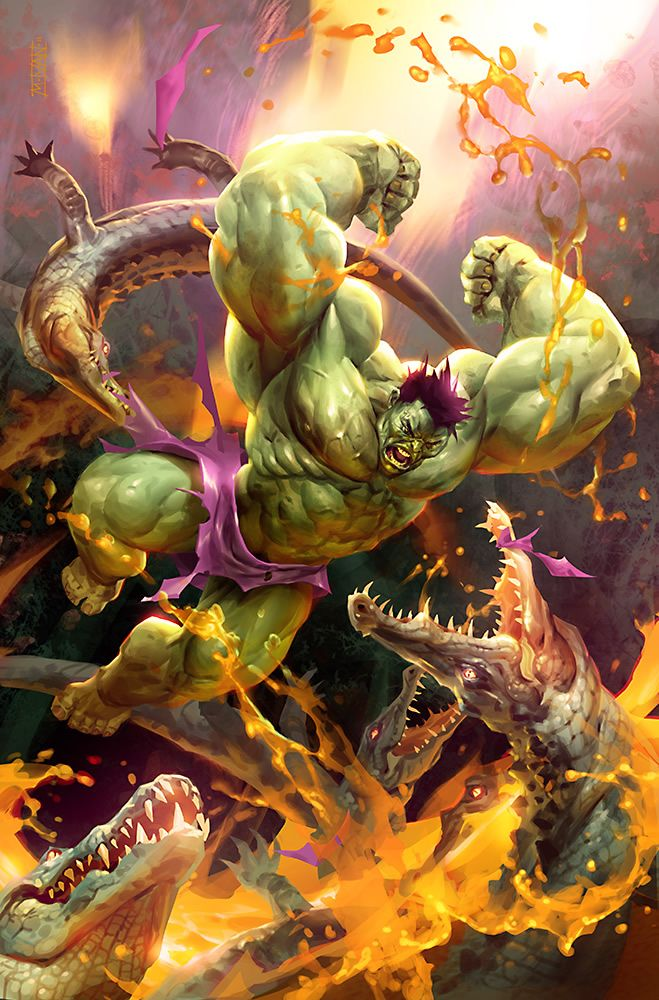 Hulk Smash! Totally Epic Illustrations by Michal Ivan.
