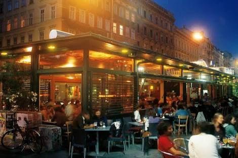 VIENNA, AUSTRIA: Deli Restaurant: have the Wiener Fruehstuck (Vienna breakfast)