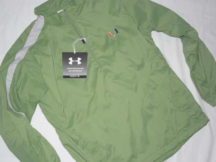 Item specifics     Condition:        New: A brand-new, unused, unopened, undamaged item (including handmade items). See the seller's    ... - https://lastreviews.net/sports-fitness/fishing/under-armour-mens-green-miami-hurricanes-1-4-zip-jacket-small/