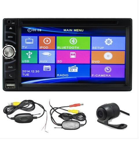6.5 inch Double din Car Stereo with HD Car DVD Player In Dash Bluetooth Ipod FM AM RDS Auto Radio Receiver Backup Camera Wince System Car DVD Player USB SD Universal Video Input TFT 800*480 Touch Screen TH.1W.8215NN1+WYCAM https://www.eincar.com/car-electronics-bundle/6-5-inch-double-din-car-stereo-with-hd-car-dvd-player-in-dash-bluetooth-ipod-fm-am-rds-auto-radio-receiver-backup-camera-wince-system-car-dvd-player-usb-sd-universal-video-input-tft-800-480-touch-screen.html