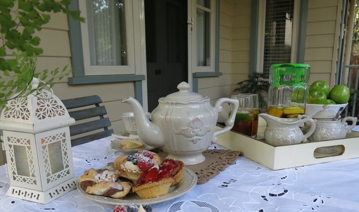 Taking Tea at Brantwood Cottage Blue Mountains Accommodation in Blackheath NSW