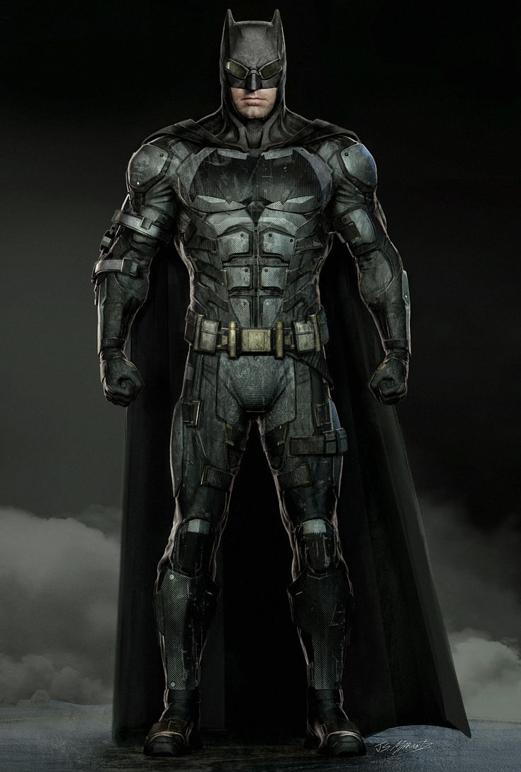 ArtStation - Justice League: Batman Tech Suit , Jerad Marantz