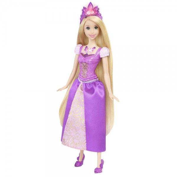 Prinţesele Disney Strălucitoare Păpuşa Rapunzel Cu Lumini