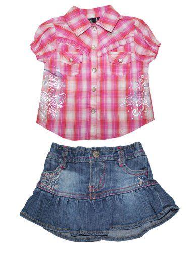 2 PCS Satz: Baby Phat Baby Mädchen Plaid Shirt & Jeansrock 0/3M Rose & Blau Baby Phat http://www.amazon.de/dp/B00JGHNV40/ref=cm_sw_r_pi_dp_V841vb1EFZNS6