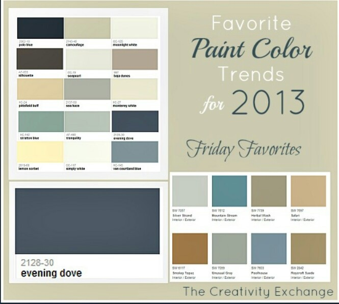 Popular Home Interior Paint Colors: Love These Interior Paint Colors!!!