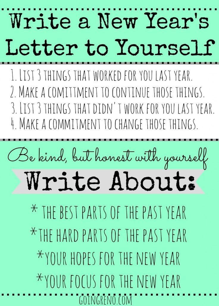 write a letter to yourself at 16
