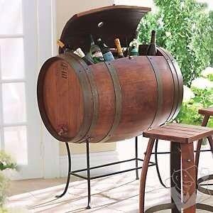 Barrel cooler on stand