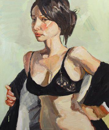 © Robert Malherbe ~ Moving On ~ 2011 oil on canvas at Olsen Irwin Gallery Sydney Australia