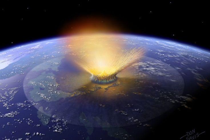 Kozmikus becsapódás / #cosmic #impact Szerző/creater: Don Davis