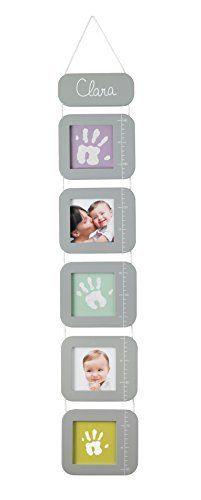 Baby Art Height Print Chart - Tabla de crecimiento para fotos y huellas de mano o pie, color gris/blanco de Baby Art, http://www.amazon.es/dp/B00FRLKXJA/ref=cm_sw_r_pi_dp_gN9hxbRRMKXZJ