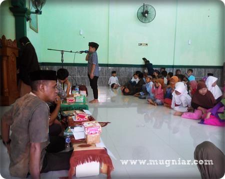 lomba, lomba ranking 1, lomba tadarrus, TPA, masjid al Mukarramah