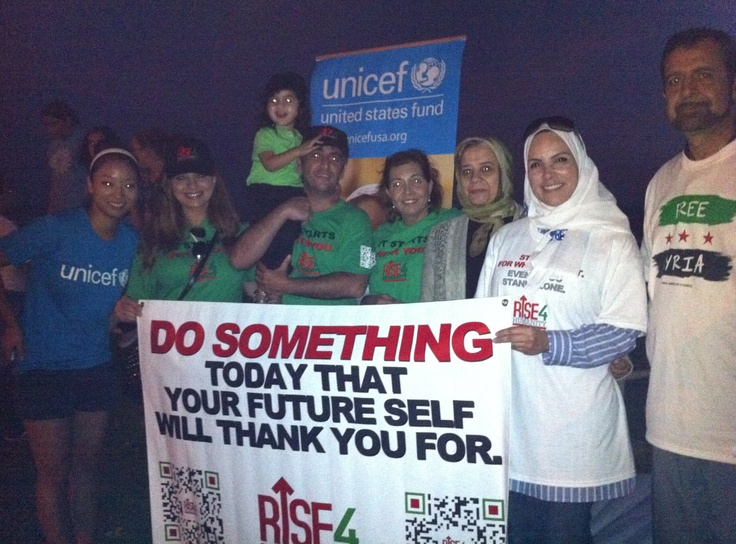 Great to see families at Saturday's Walk for the Children of #Syria in Los Angeles!: The Angel
