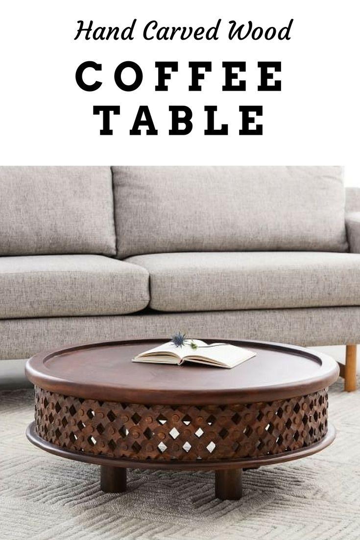 Carved Wood Coffee Table Homedecor Livingroom Furniture Ad Wood Carving Furniture Coffee Table Coffee Table Wood [ 1102 x 735 Pixel ]