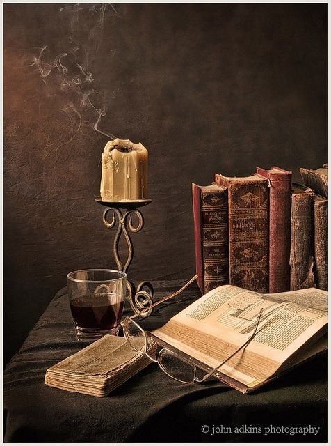STILL LIFE © John Adkins II, photographer. via flickr. Wonderful piece. Thought it was a painting at first glance... and second glance! Hard to believe it's a photo! ...
