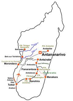 Mapa aventura malgache