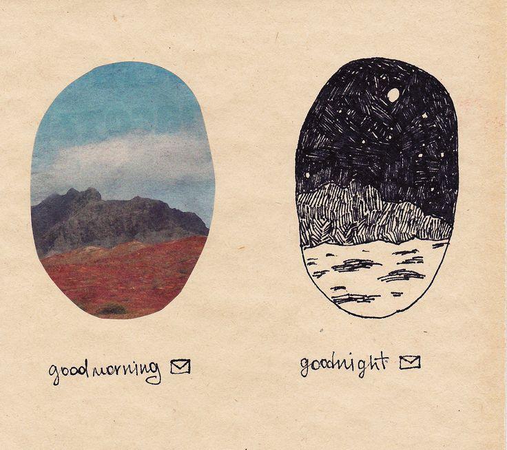 good morning // good night