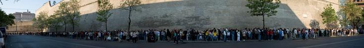 Vatican Museums ~ long lineups