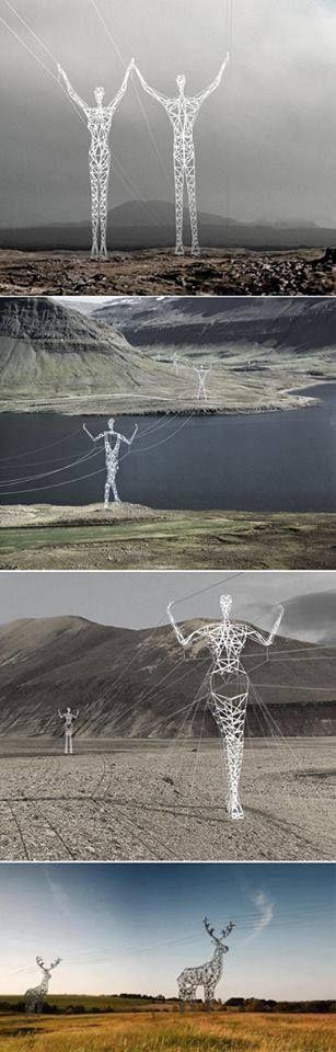 Icelandic Powerlines