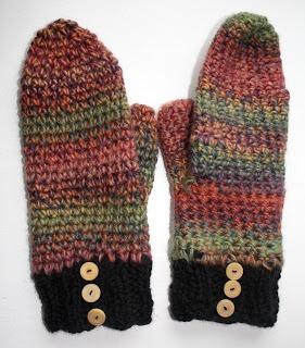 #Mittens #Crochet
