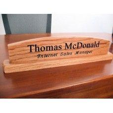 13 best Desk Name Plates images on Pinterest | Desks, Business ...