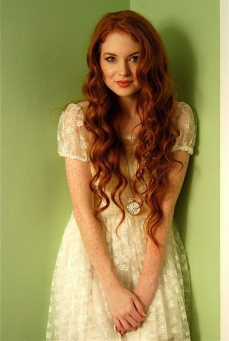 My favorite Doctor Who side kick with her amazing red hair.