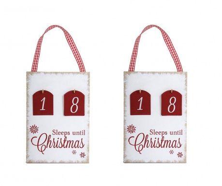 Sleeps until Christmas 2 darabos Adventi kalendárium szett