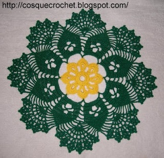 Doily with digram
