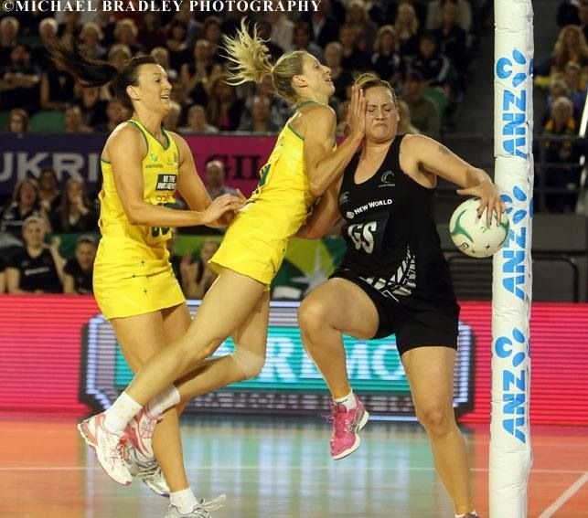 Netball is a non contact sport...lol