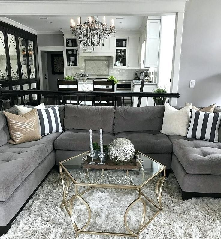 Modest Beautiful Dark Gray Couch Living Room Ideas Sofa Furniture