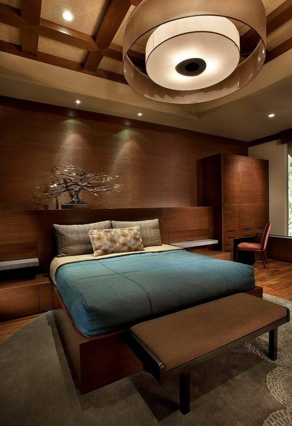 Make Your Bedroom More Bright With Wood Full Size Bed Bedroom Ceiling Designsbedroom