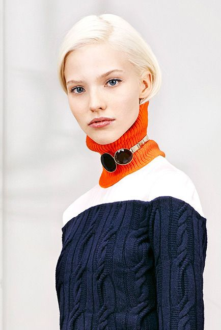 living for the choker over the turtle neck