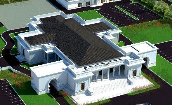 Kantor Bupati Nias Mirip Istana Merdeka