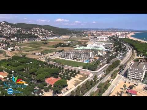 Video aéreo dron - Santa Susanna Barcelona