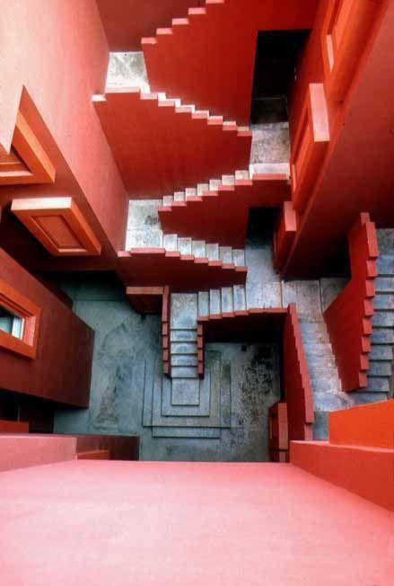 La Muralla Roja Architecture | Ricardo Bofill | Calpe Spain