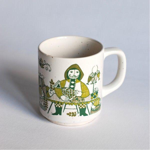 mug Turi-design Market vintage
