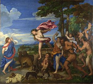 Baccus and Ariadne by Titian
