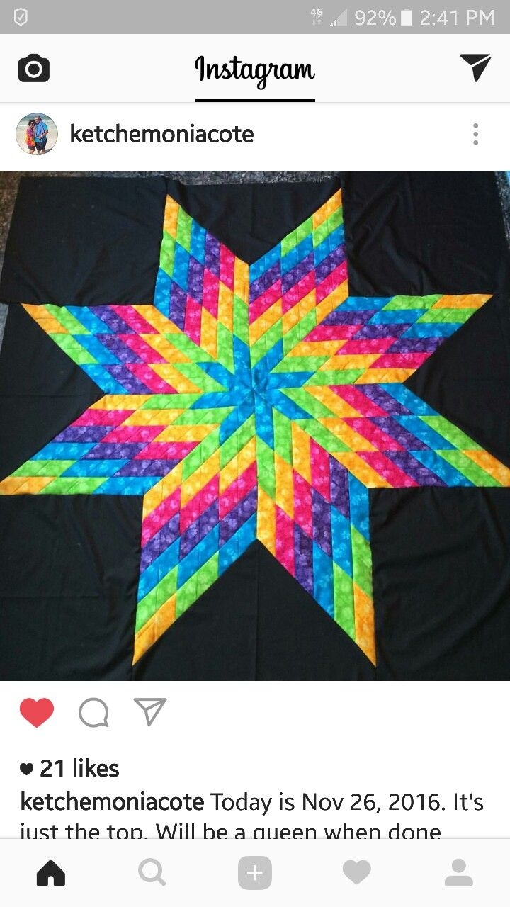 1969 Best Lone Star Quilt Variations Images On Pinterest