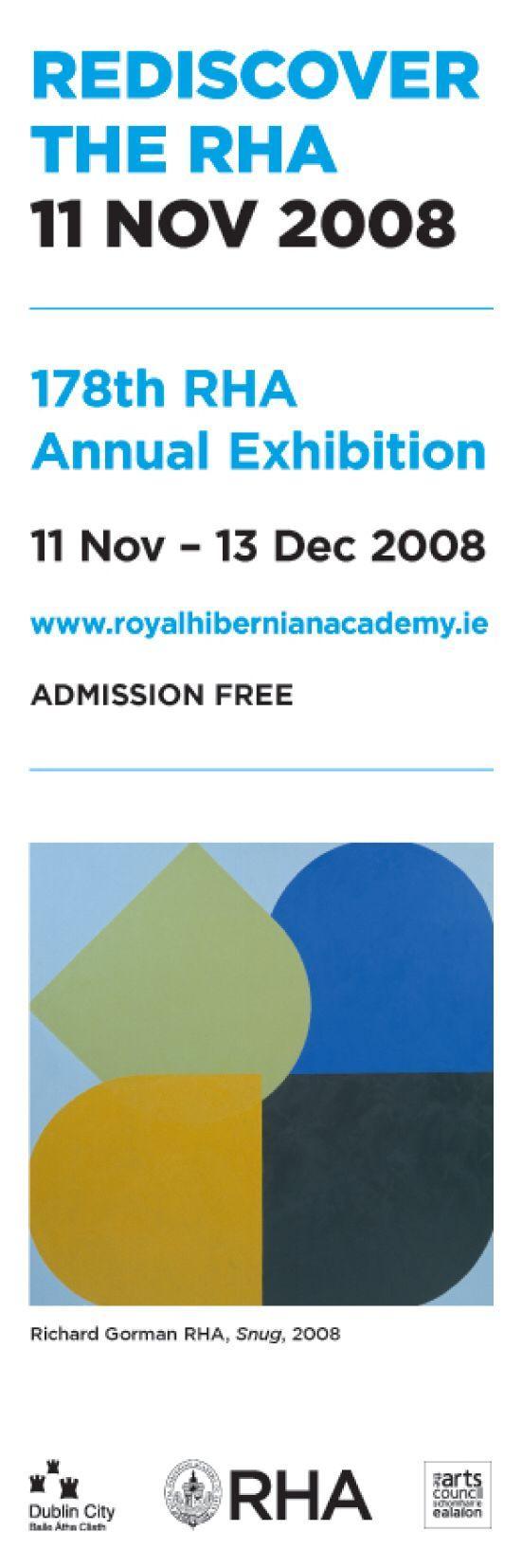 Dublin Street Banners for Rediscover the RHA, featuring 'Snug' by Richard Gorman #civicmedia2008