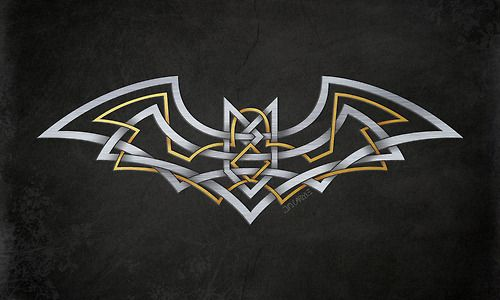 Celtic Knot Bat Symbol | Nerdlinger 3000 | Pinterest ...